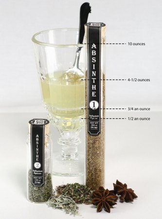 La Rochere Absinth Glass Measurments