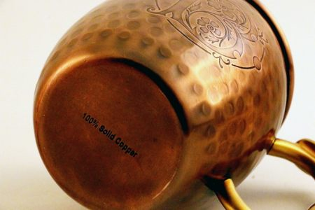 Bootleg Botanicals Copper Mule Mug