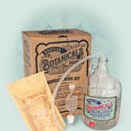 Bootleg Botanicals™ Home Brewed Ginger Beer Brewing Kit