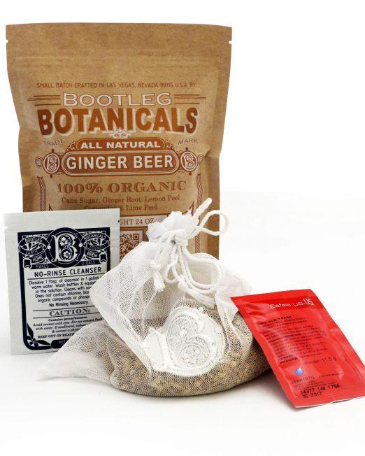 DIY Home-Brewed Ginger Beer Refill Kit