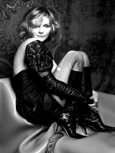 Kirsten Dunst Booted Up