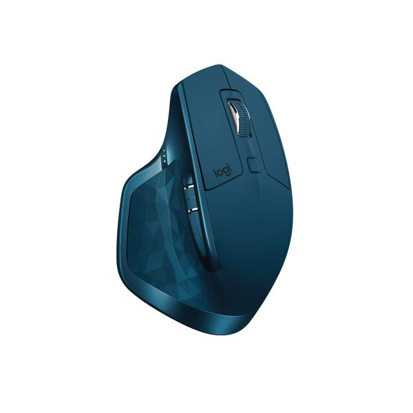 Midnight Teal MX Master 2S - Logitech Mouse side view