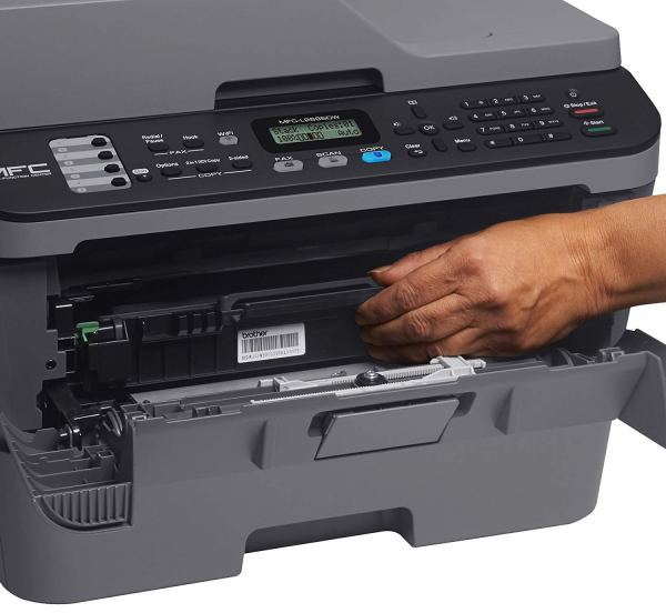 brother mfc-l2685dw laser printer front open