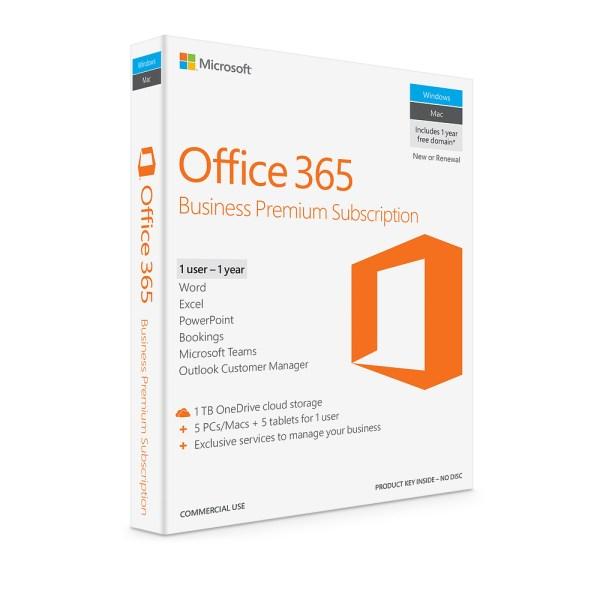 office 365 business premium subscription