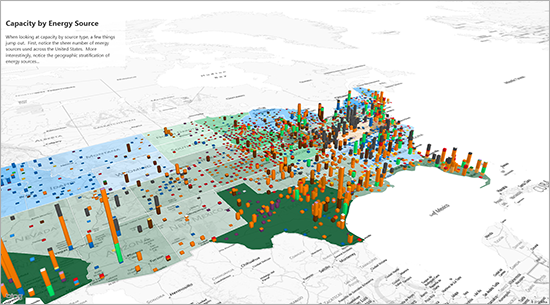 Microsoft Office 365 Excel Power Map