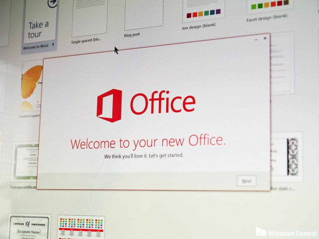 new office 365 features