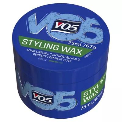 hair wax styling