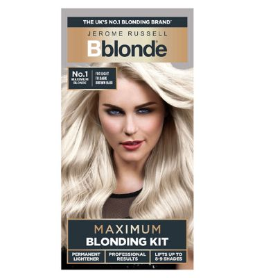 hair bleach dye