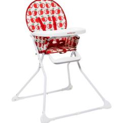 Mothercare Travel High Chair Booster Seat Yellow Accent Chairs Highchairs Seats Feeding Baby Child Boots Highchair Apple