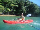Lindsay joined us for the paddle. Seriously, we got paid to be here, I'm not making it up.