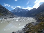 A Glacial lake in late summer with hundreds of icebergs... pretty cool hey?