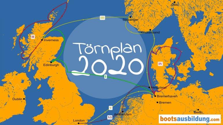 Törnplan 2020