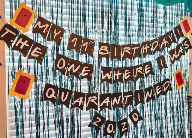 quarantined birthday