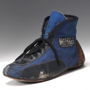 Emerson Fittipaldi motor racing shoe