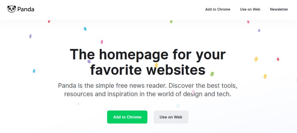 panda site d'idée et d'inspiration pour designer