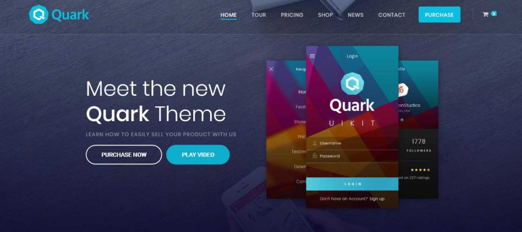 quark: meilleurs thèmes pour site d'ecommerce