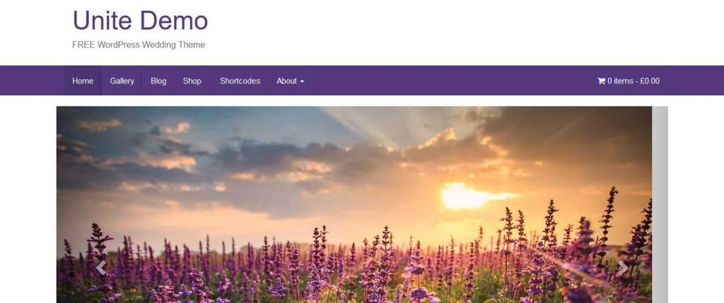 unite : Thème wordpress gratuit responsive pour site d'entreprise