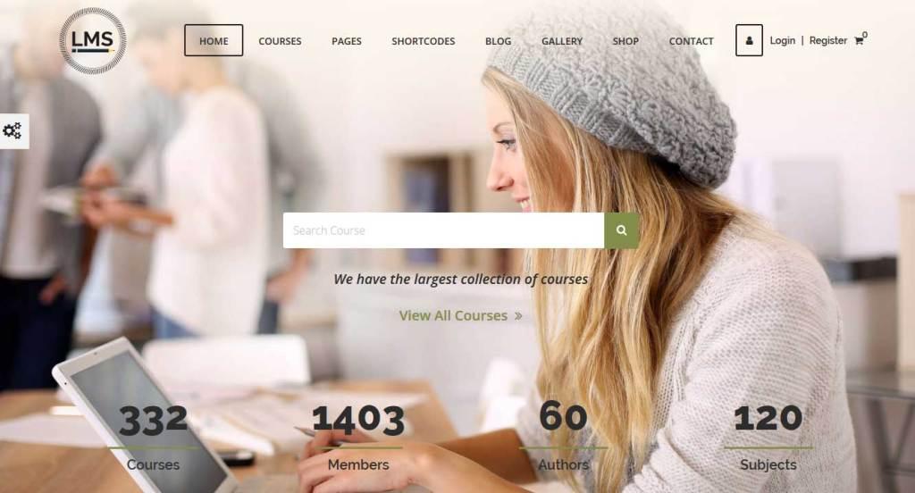 LMS: thèmes wordpress premiums pour site d'éducation