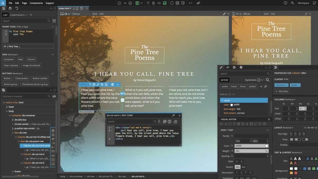 outil pour créer des thèmes Bootstrap