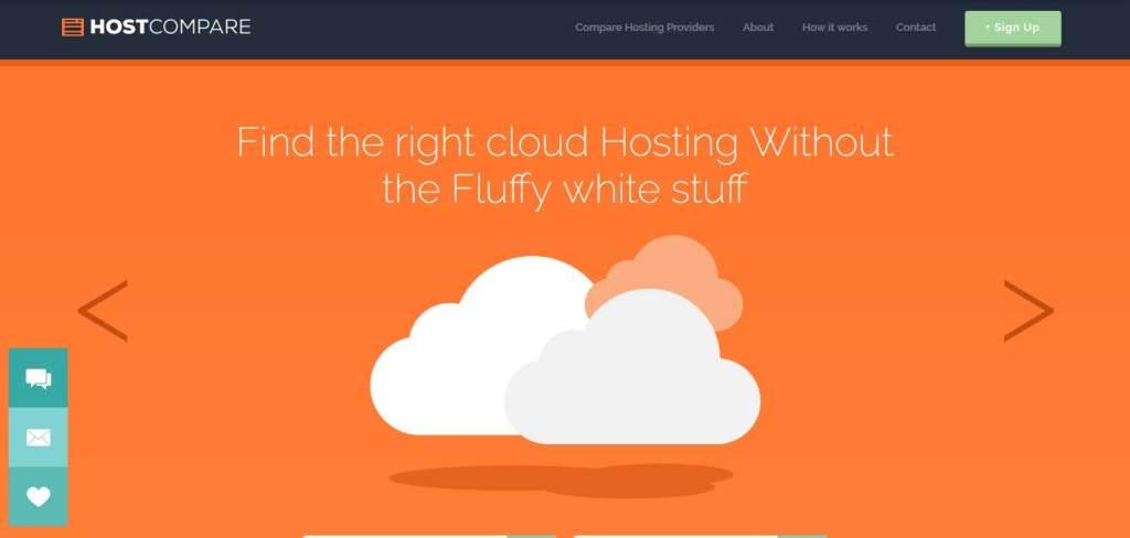 host-compare : template gratuit responsive pour créer un site d'hébergement