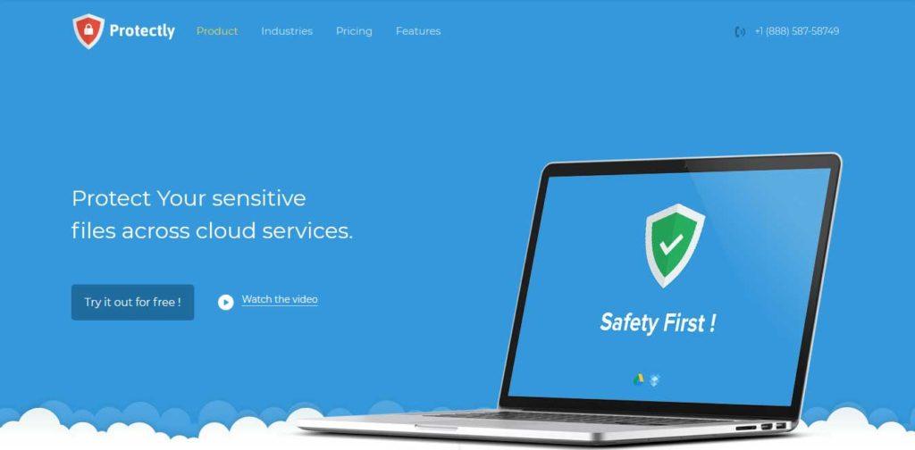 protectly : template gratuit responsive pour site d'hébergement