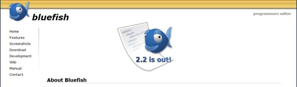 bluefish : éditeurs de code gratuits