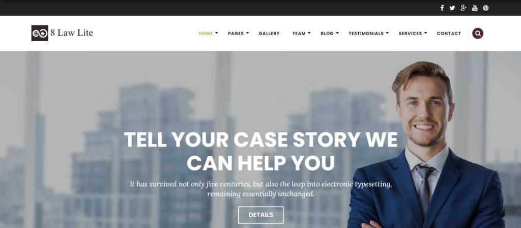 eightlaw lite : thème wordpress gratuit