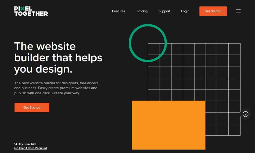 pixel-together : constructeur de site internet
