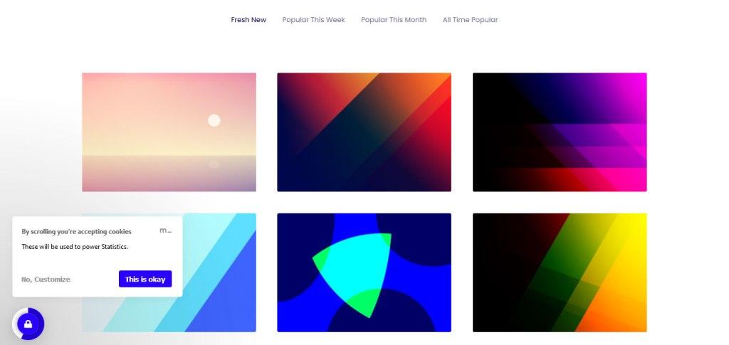 Gradienta : outil générateur de palette de couleurs