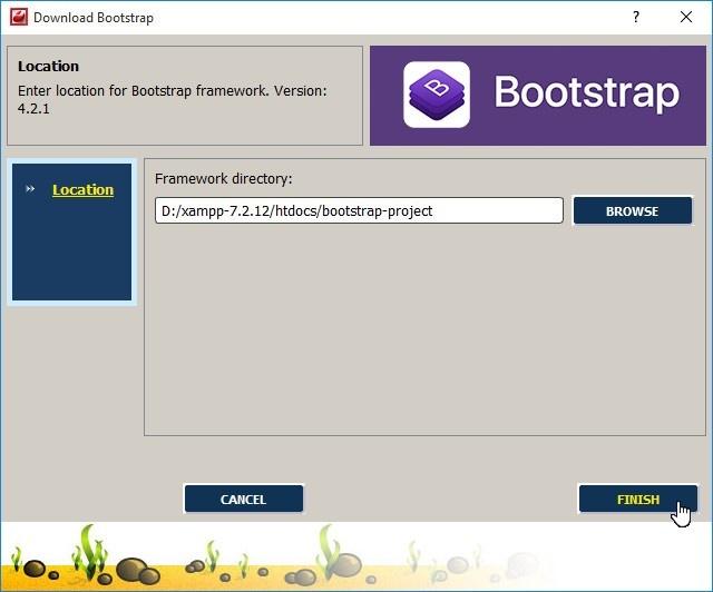 intégrer Bootstrap dans CodeLobster