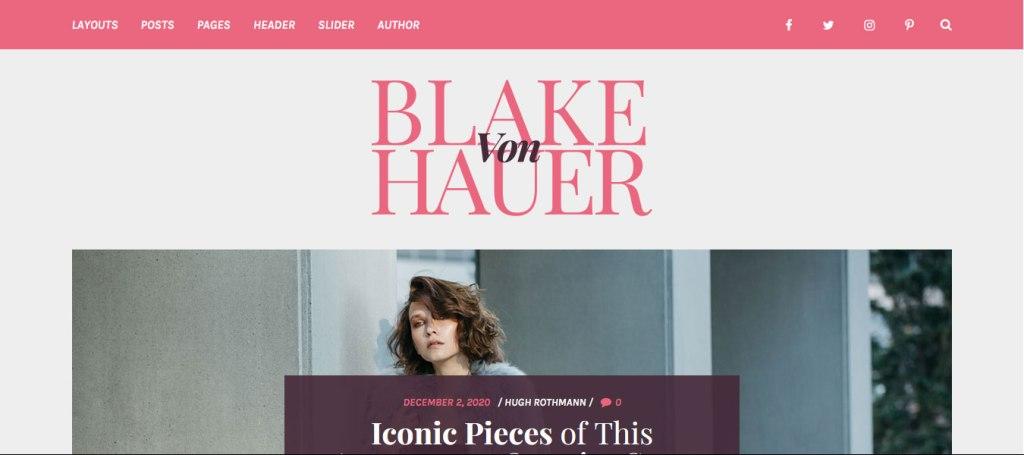 thème wordpress blake