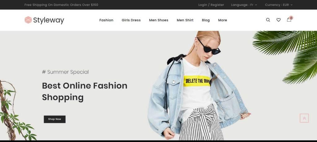 styleway : thème prestashop de mode