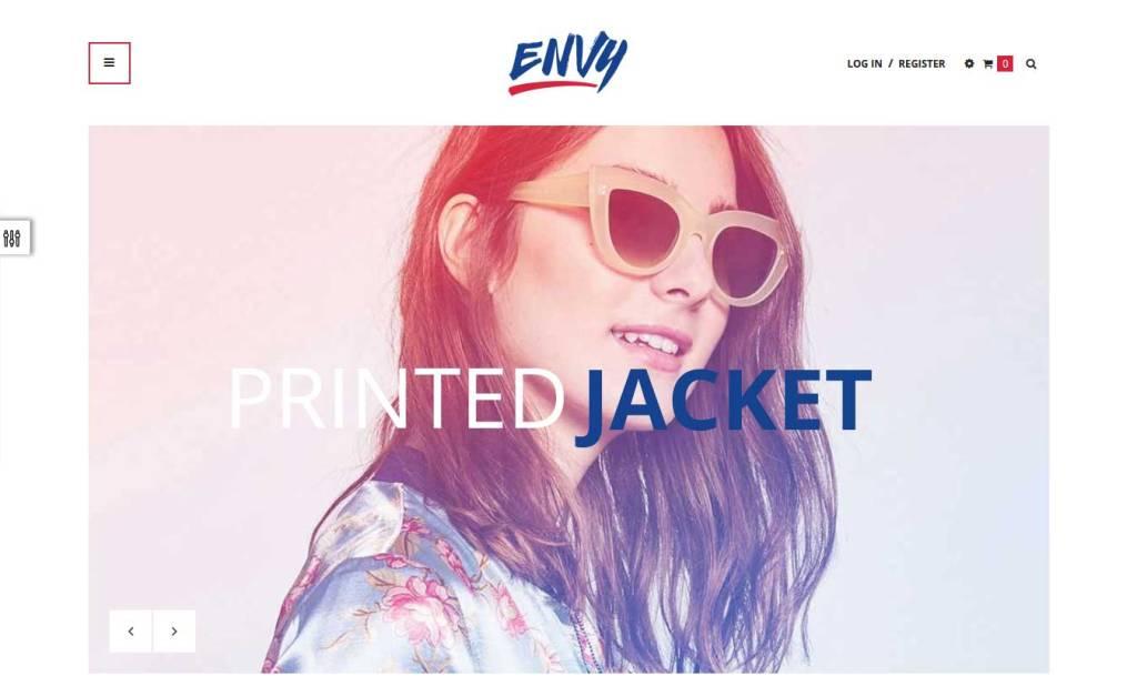 ap envy thème gratuit shopify