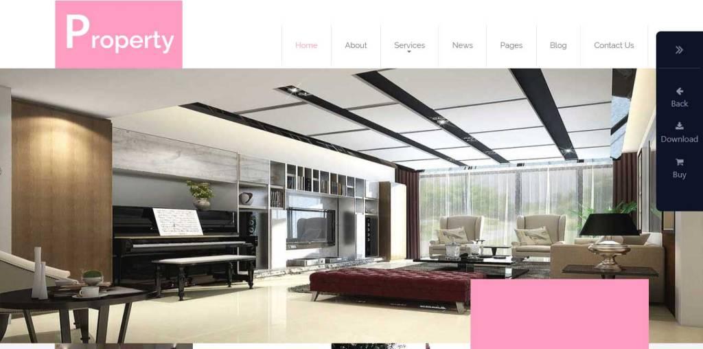 property : thème immobilier gratuit