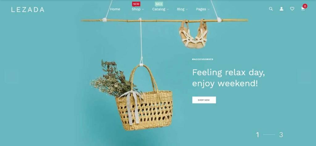 lezada : thème premium shopify