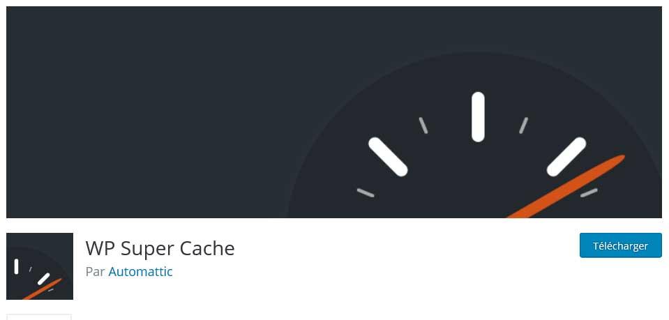 wp super cache : plugins gratuits wordpress