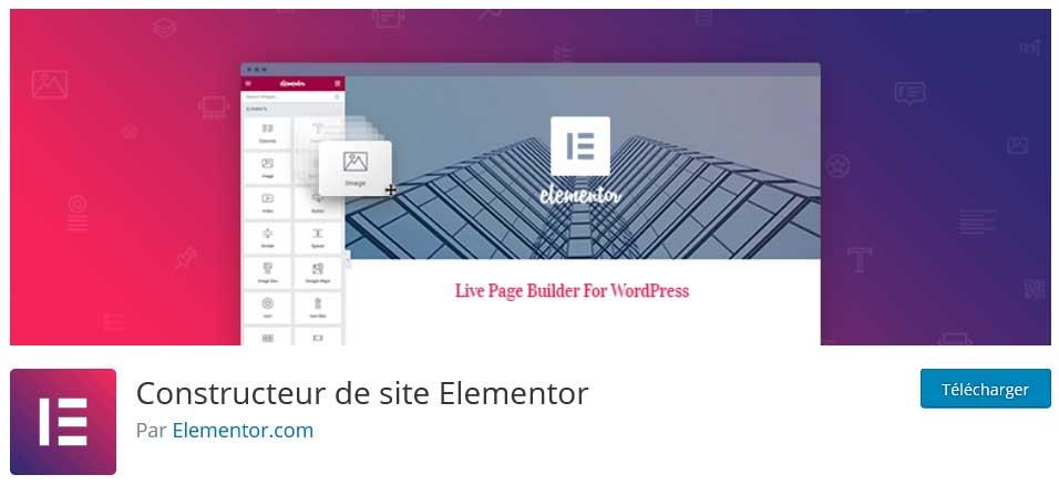 elementor : plugins gratuits wordpress