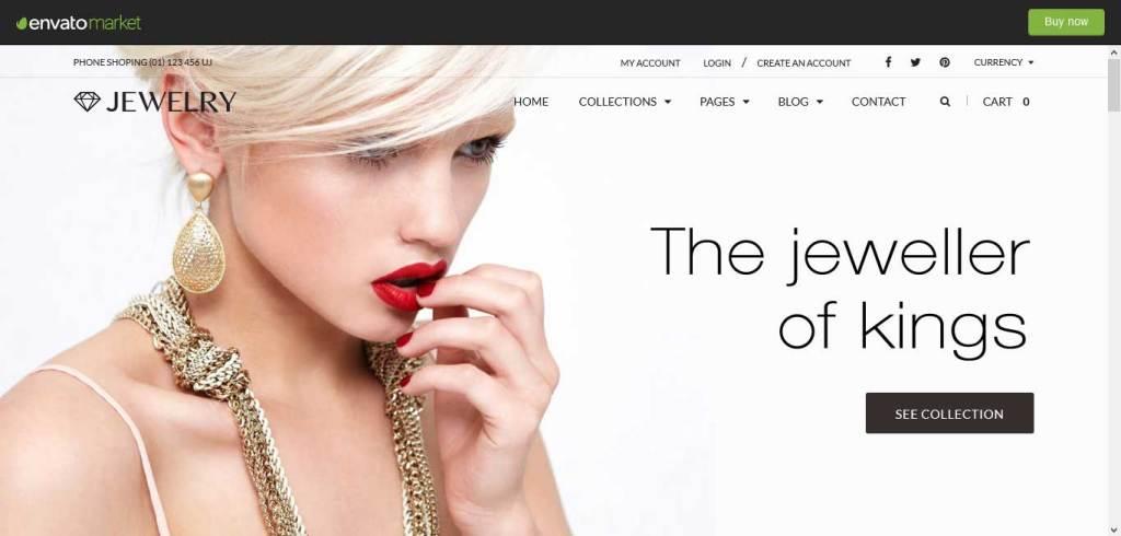 world jewerly : thèmes pour site shopify de bijoux