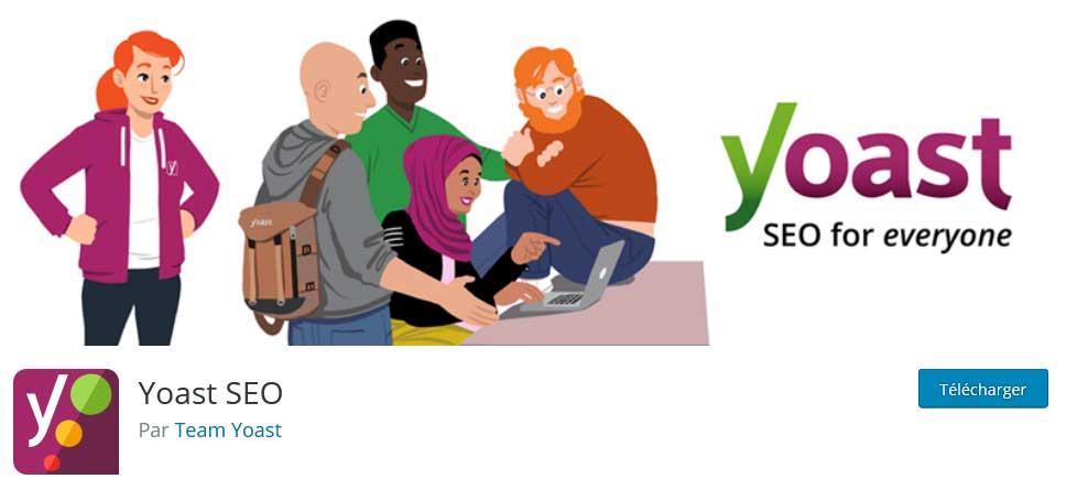 yoast : plugins gratuits wordpress