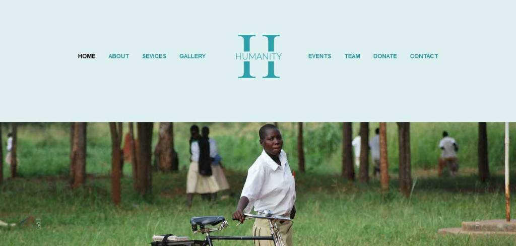 humanity : thèmes gratuits pour site d'association