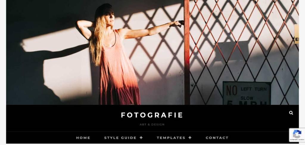 fotografie : thèmes wordpress gratuits pour photographes
