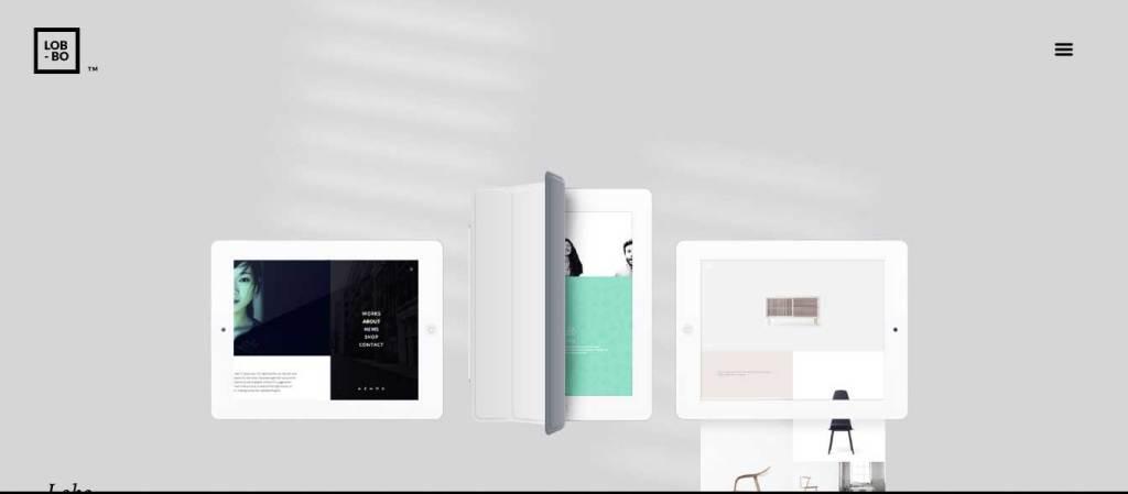 lobo : thèmes wordpress pour agence web