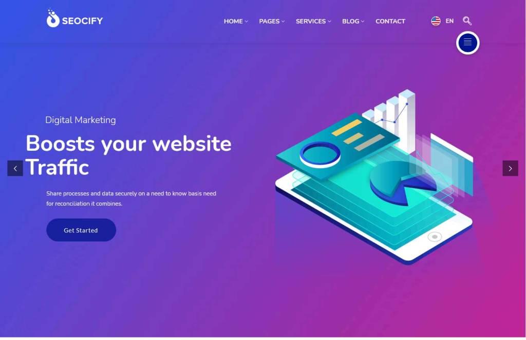 seocify : thèmes wordpress pour agence web