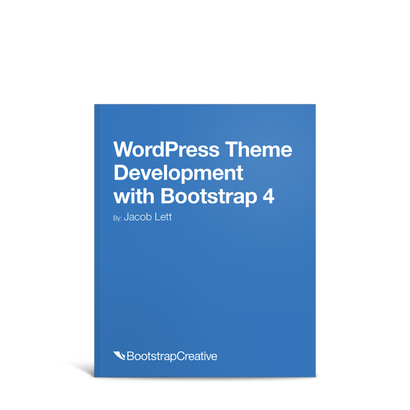 wordpress theme development bootstrap book