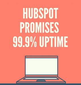 99% uptime HubSpot CMS