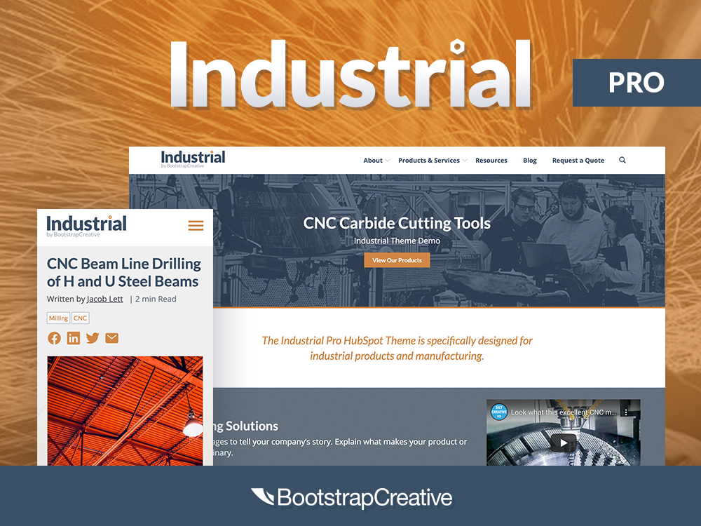 Industrial HubSpot Theme
