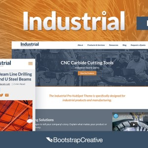 HubSpot Theme for Manufacuturers