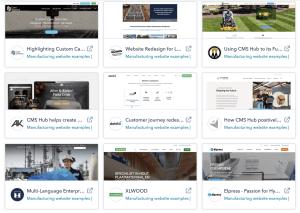 hubspot cms website example