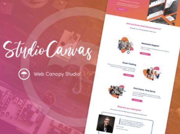 Studio Canvas HubSpot Theme