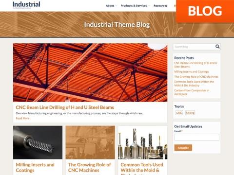 Industrial HubSpot Blog Templates
